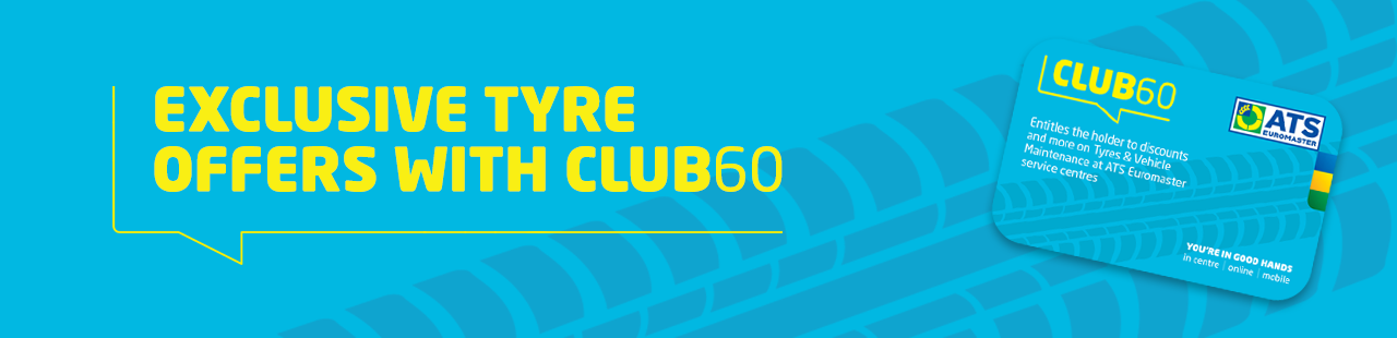 Club60 Tyre Offers-banner