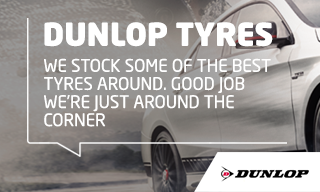 Dunlop Tyres-banner