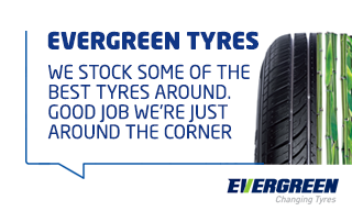 Evergreen Tyres from ATS Euromaster