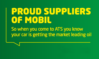 Proud suppliers of Mobil oil
