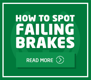 How to spot failing brakes