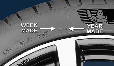 find your tyre age